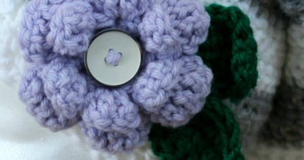 Crochet X And O Pattern : Crochet flower patterns, The ojays and Free crochet on Pinterest