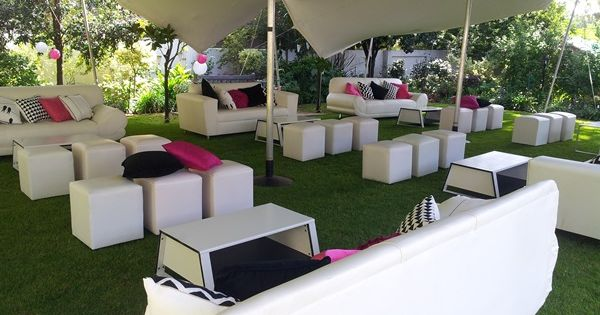 Stretch Tent Couch Umbrella & Furniture Hire Wedding decor