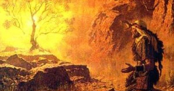 Moses and the Burning Bush. BIBLE SCRIPTURE: Exodus 3:6 ...