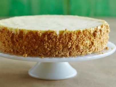 Mascarpone Cheesecake With Almond Crust Recipe Giada De Laurentiis Food Network Fun Cheesecake Recipes Sour Cream Cheesecake Sour Cream Recipes