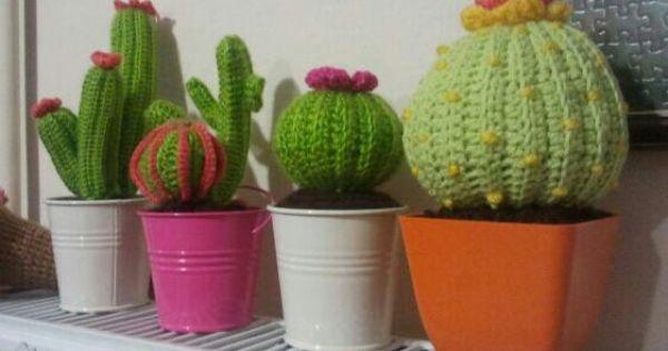 Amigurumi Cactus Redondo : amigurumi cactus cactus haken en breien Pinterest ...