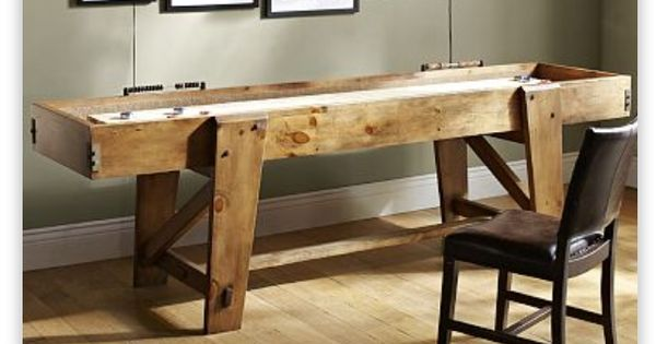 Pottery Barn Shuffle Board Man Cave Ideas Pinterest