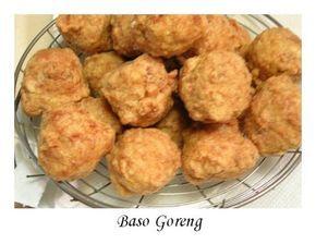 Bakso Goreng Udang Babi Resep Masakan Makanan Resep Makanan Cina