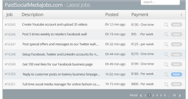 Full Join Page u2014 Paid Social Media Jobs Hilarious stuff - social media manager job description