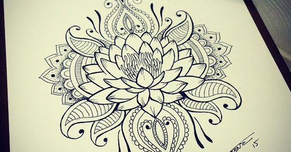 Tatuaje japones flor de loto roja buscar con google - Somier japones ...