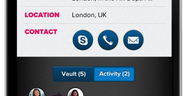 Ntu Alumni Vault Iphone App Design By Dora Szabo Via Behance