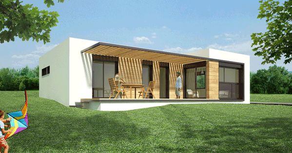 Casas modulares casas prefabricadas modelo 2 4 - Casas sostenibles prefabricadas ...