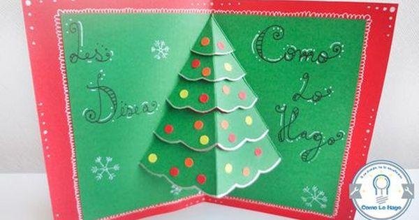 25 Elegantes tarjetas navidenas hechas a mano