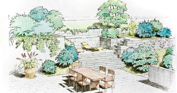 How To Sketch A Garden Plan Google Zoeken Designer Pinterest
