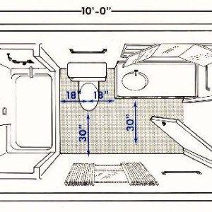 Typical 6x8 Bathroom Layout - BATHROOM DESIGN