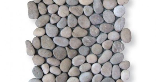 kieselsteinboden pure nature von stein und ambiente. Black Bedroom Furniture Sets. Home Design Ideas