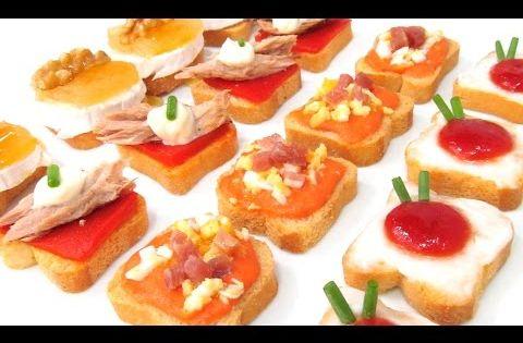 Canapes para fiestas 4 faciles rapidos y baratos for Canapes faciles y baratos