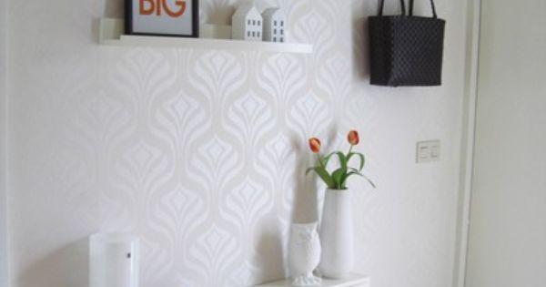 Una decoraci n en muebles y paredes con colores y motivos - Colores para recibidores ...