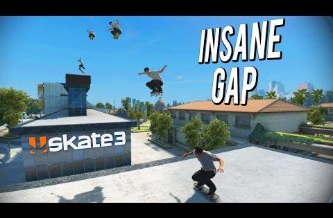 Insane University Roof Gap Skate 3 Gap Challenge Youtube Skate 3 Challenges Skate