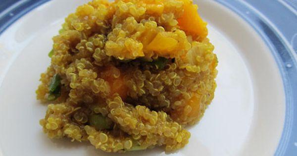 Curried Quinoa Salad with Mango | Quinoa Salad, Mango and Quinoa