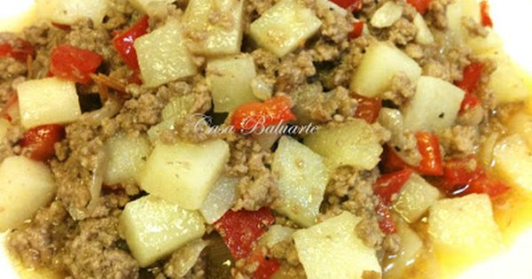 Casa Baluarte Recipes Ground Beef And Potatoes Recipe Giniling Recipe Ground Beef And Potatoes Ground Meat Recipes