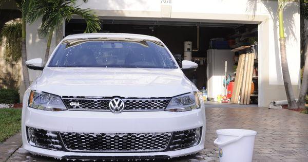 Volkswagen Jetta Gli Lowered Pure White Front Grille