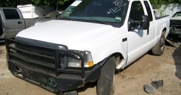Ford F 250 Super Duty Being Parted Out So Many Parts On This Truck That Are Great Condition Used Car Parts Ford F250