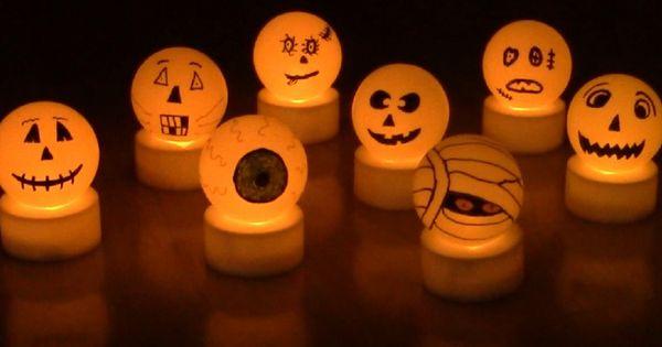simple et originale pour créer des décorations d\Halloween ...