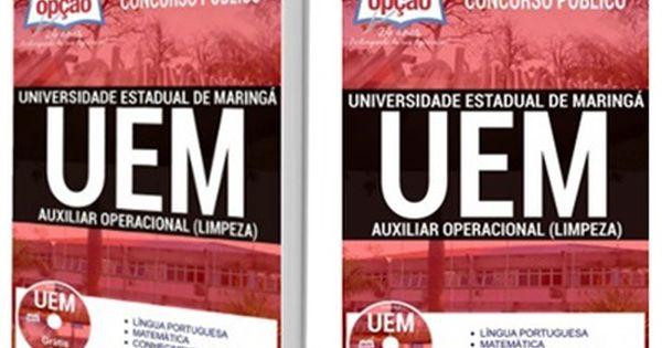 Apostila Concurso Uem Pr Universidade Estadual De Maringa Com