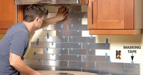 24 Low Cost Diy Kitchen Backsplash Ideas And Tutorials Countertops Tile Back Splashes And Tile