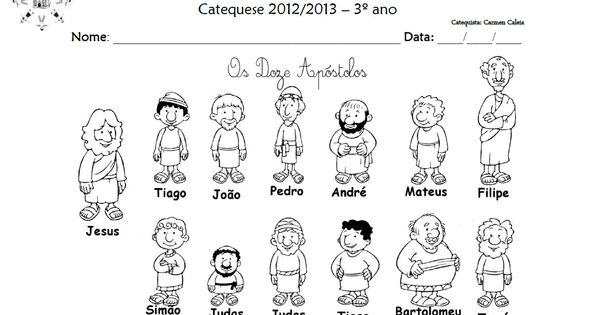 The 12 Disciples Of Jesus Sunday School Coloring Pages Sunday School Lessons Bible Coloring Pages