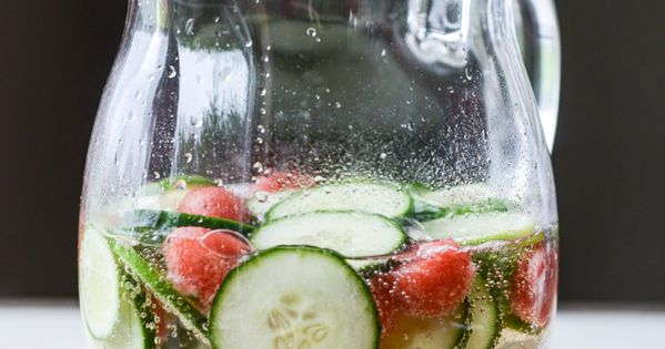 Sparkling Cucumber Watermelon Sangria | Sangria, Watermelon and ...