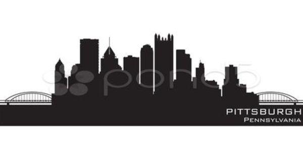 Drawing Of Pittsburgh Skyline 187 Trueido Tattoos