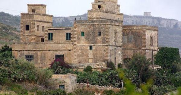 Malta Mgarr Abandoned British Period Winery Abandoned Greek