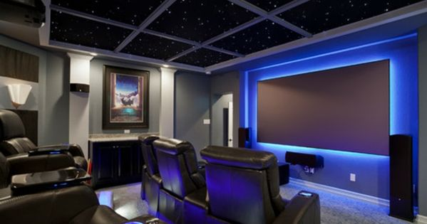 kino zimmer zu hause led sternenhimmel indirekte beleuchtung pinterest kino zimmer. Black Bedroom Furniture Sets. Home Design Ideas