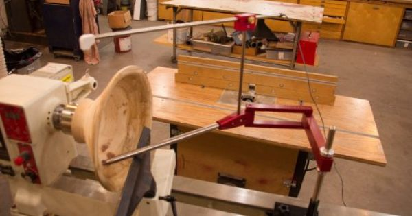 Simple Hollowing System Accepts All Simple Woodturning Tools.