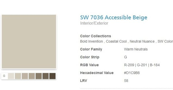Softer Tan Vs Accessible Beige Sherwin Wilkiams Accessible Beige Sherwin Williams For Living