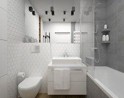 Aranżacje Wnętrz łazienka łazienka 5 M2 Mała łazienka