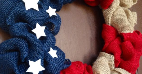 4th of July Wreath/ Independence Day Wreath/ Memorial Day Wreath/ American Flag Wreath/ Veterans Day Wreath.