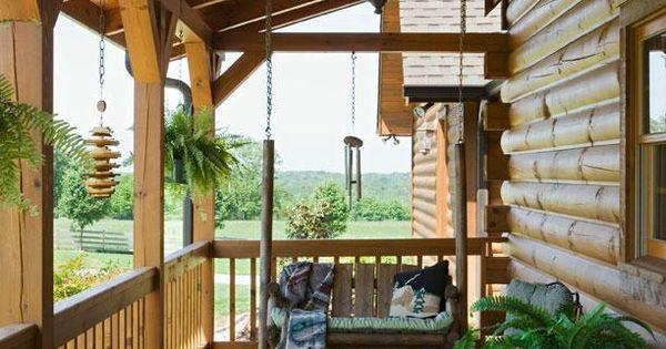 berdachte veranda holz schaukel bauen vordachbau ideen rund ums haus pinterest verandas. Black Bedroom Furniture Sets. Home Design Ideas