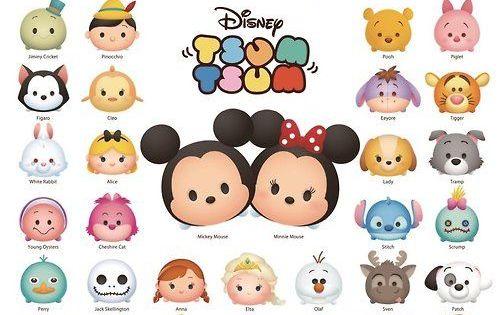 Como Dibujar Y Pintar A Tsum Tsum De Ariel 2: Disney TSUM TSUM Line Up! Puzzle 1000 Pieces (finished