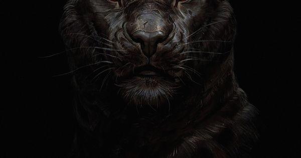 2160x3840 Tiger Glowing Red Eye Minimal Dark Wallpaper Jaguar Animal Tiger Wallpaper Black Panther Hd Wallpaper Black jaguar eyes wallpaper