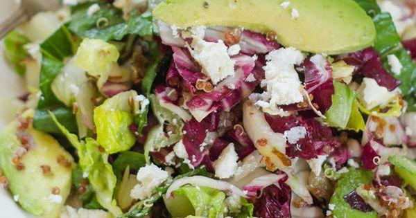 Radicchio Salad with Avocado, Red Quinoa, & Ricotta Salata ...