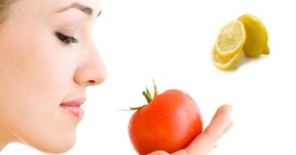 Comment enlever des cernes avec tomates et citron - Masque peau grasse maison ...