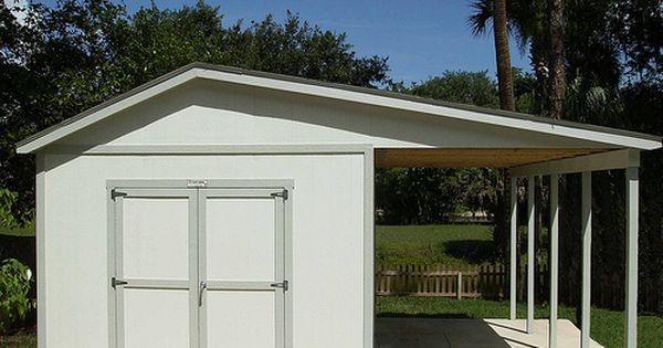 Storage Shed Ramps >> A great way to add a carport! | Tuff Shed Garages | Pinterest | Storage cabinets, Backyard and ...