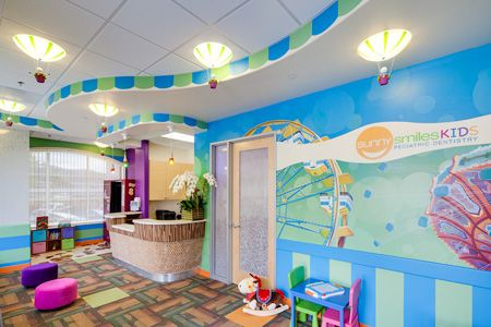 Lobby Pediatric Dentist In Del Mar California Kid