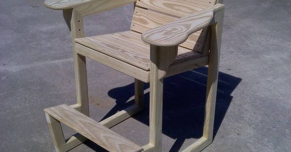 Wooden Dock Chair I Want Pinterest Cottage Ideas