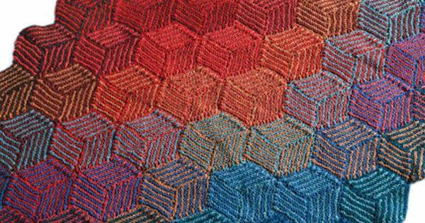 Strickanleitung hexen ecken f r coole decken for Decken streichen leicht gemacht