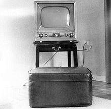 Black And White Tv Don T Sit Toooo Close Though History Of Television Television Television Set