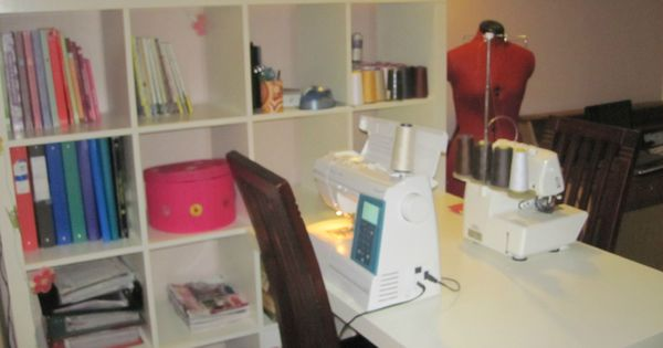 coin couture bureau bis scraproom pinterest coin couture basique et panier. Black Bedroom Furniture Sets. Home Design Ideas