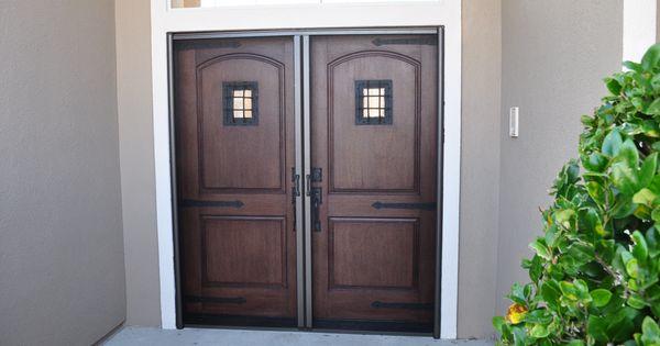Plastpro Rustic Series Fiberglass Doors With Speakeasy