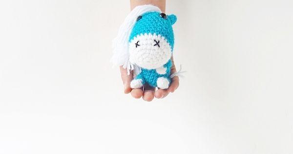 Amigurumi Pony Tutorial : Amigurumi Horse Pony - FREE Crochet Pattern / Tutorial ...