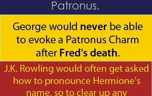 HP facts that every Potterhead should know.