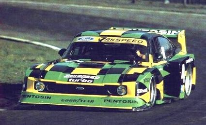 Zakspeed Ford Capri Turbo Pentosin Classic Racing Cars Ford
