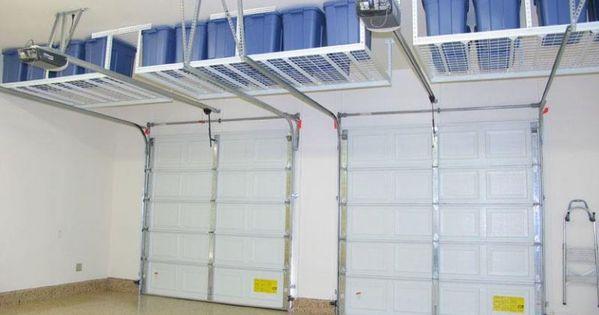 Above Garage Door Storage Costco In 2020 Garage Organization Garage Decor Garage Storage